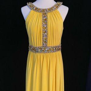 Jovani Designer Grecian Inspired Gown #15269